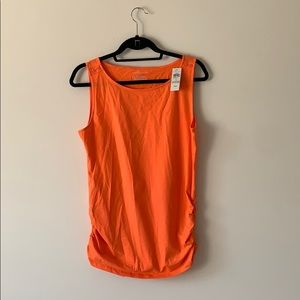 NWT Ann Taylor Tank with Ruching on Sides